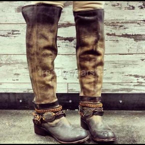 c028be07190 Freebird Aspen knee-high boots